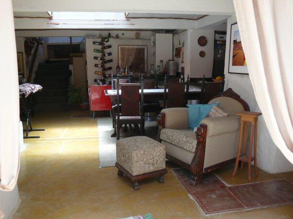 A sala como está hoje.
